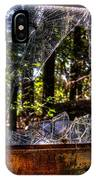 The Woods Through A School Bus Window IPhone Case