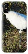 The Woodstork IPhone Case