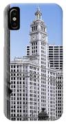 The Wrigley - A Building That Is Pure Chicago IPhone Case