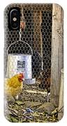 The Yellow Chicken IPhone Case