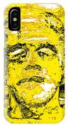 The Yellow Monster IPhone Case