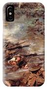Their Men Advanced In Dense Masses IPhone Case