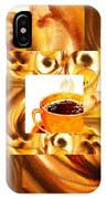 There Is A Coffee At The End Of The Tunnel  IPhone Case