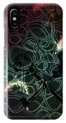 There Is Something In The Dark IPhone Case