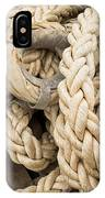 Braided Rope With Eyelet IPhone Case