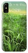 This Is The Day IPhone Case