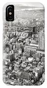 This Is Tokyo In Black And White IPhone Case