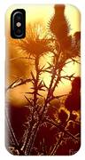 Thistle Edge Glow IPhone Case