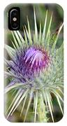 Thistle Flower IPhone Case