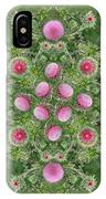 Thistle Star Mandala IPhone Case