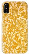 Thistle Wallpaper Design, Late 19th IPhone Case