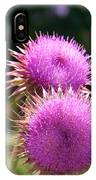 Thistles In Love IPhone Case