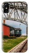 Thomas Edison Museum And Rr Track IPhone Case