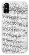 Thomas Gray: Elegy, 1750 IPhone Case