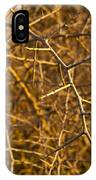 Thorn Bush IPhone Case