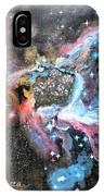 Thor's Helmet Nebula IPhone Case