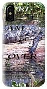 Thr Gator IPhone Case