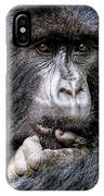 Threatened By Poachers IPhone Case