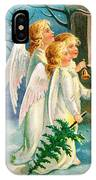 Three Angels In White Dresses IPhone Case