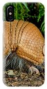 Three-banded Armadillo Hunting IPhone Case