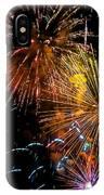Three Explosions IPhone Case