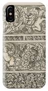 Three Friezes With Leaf Tendrils, Anthonie De Winter IPhone Case