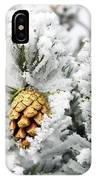 Three Frosty Cones IPhone Case