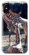 Three Giraffes IPhone Case