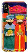 Three Kings And Camel IPhone Case