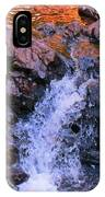 Three Little Forks In The Waterfall IPhone Case