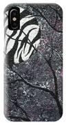 Three Moons Series - Zebra Moon IPhone Case