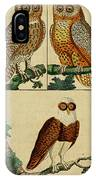 Three Owls IPhone Case