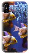 Three Pajama Cardinal Fish IPhone Case