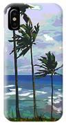 Three Palms IPhone Case
