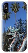 Three Palms Dragon IPhone Case