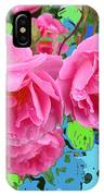 Three Pink Roses By M.l.d.moerings 2010 IPhone Case