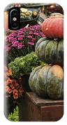 Three Pumpkins And More IPhone Case