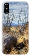 Three Rivers Petroglyphs 7 IPhone Case