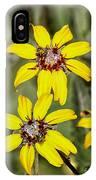 Three Sister Wildflowers IPhone Case