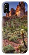Three Sisters Sunset  IPhone Case