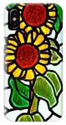 Three Sunflowers IPhone Case