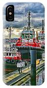 Three Tugs Hdr IPhone Case