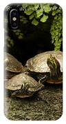 Three Turtles IPhone Case