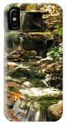 Three Water Falls IPhone Case
