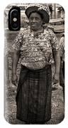 Three Women In Atitlan IPhone Case