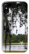 Through Live Oak Tree IPhone Case