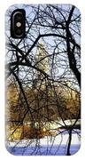 Through The Branches 3 - Central Park - Nyc IPhone Case