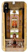 Through The Temple Doors India IPhone Case