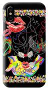 Throwing Kisses And I Love Yous IPhone Case