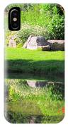 Thula Garden's Water Reflections IPhone Case